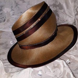 Simple brown hat